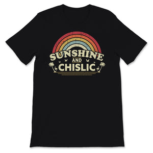 Sunshine, Chislic design for Men or Women. Retro, Unisex T-Shirt