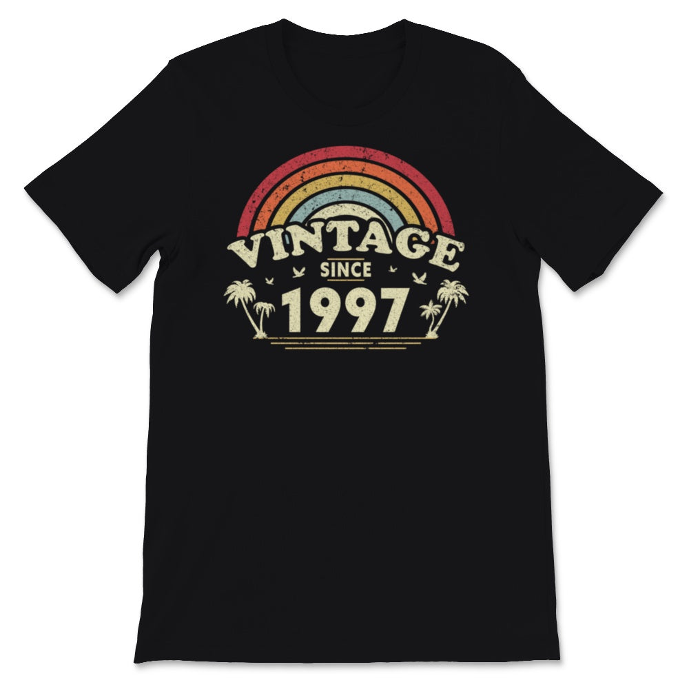 Vintage Since 1997, Birthday Gift For Men And Women, Unisex T-Shirt