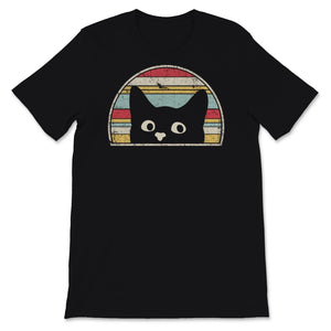 Cat Graphic. Retro Style Design Unisex T-Shirt