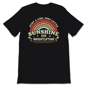 Weightlifting graphic. Girl Who Loves Sunshine, Unisex T-Shirt