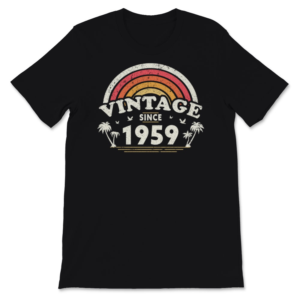Vintage Since 1959, Birthday Gift For Men And Women, Unisex T-Shirt