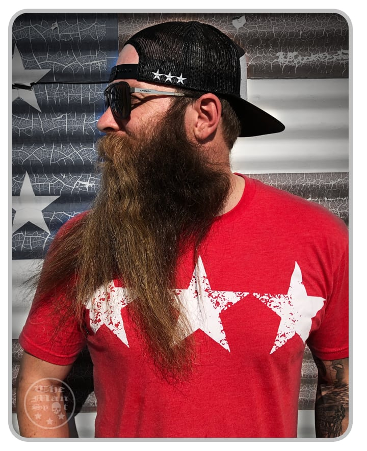 "3-Star Red ""Independence"" Shirt (Mens + Womens)"