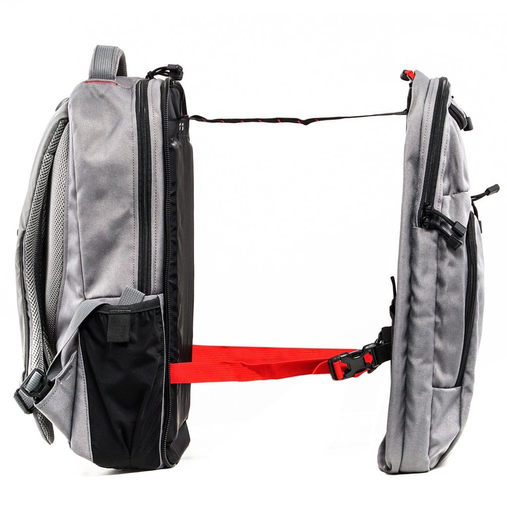 BulletProof BackPack into Vest