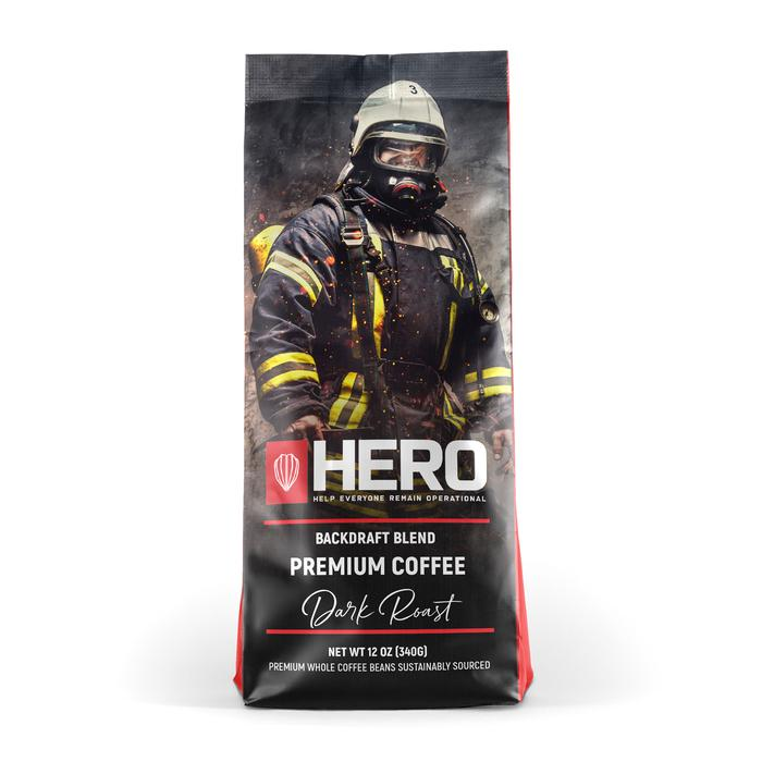 HERO Backdraft Blend Dark Roast Coffee