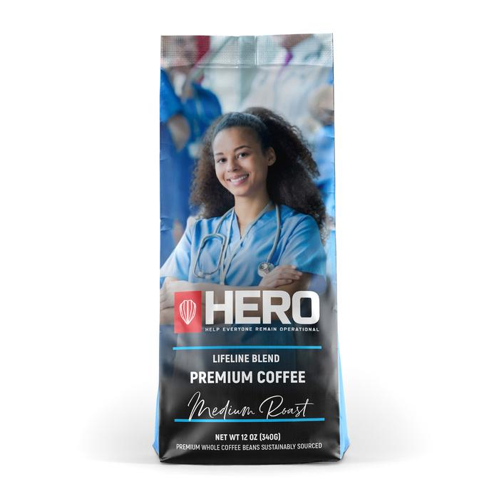 HERO Lifeline Blend Medium Roast Coffee
