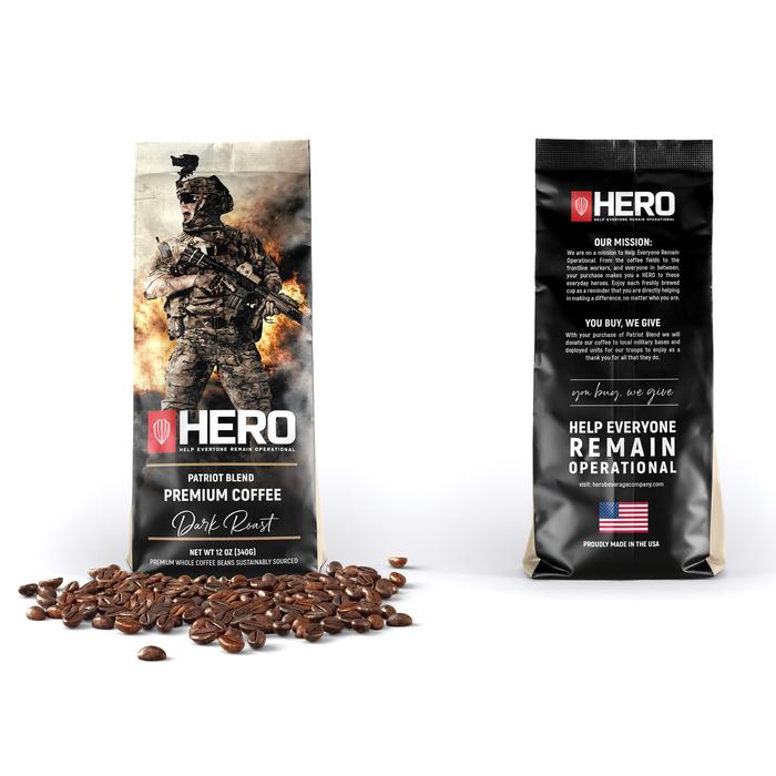 HERO Patriot Blend Dark Roast Coffee
