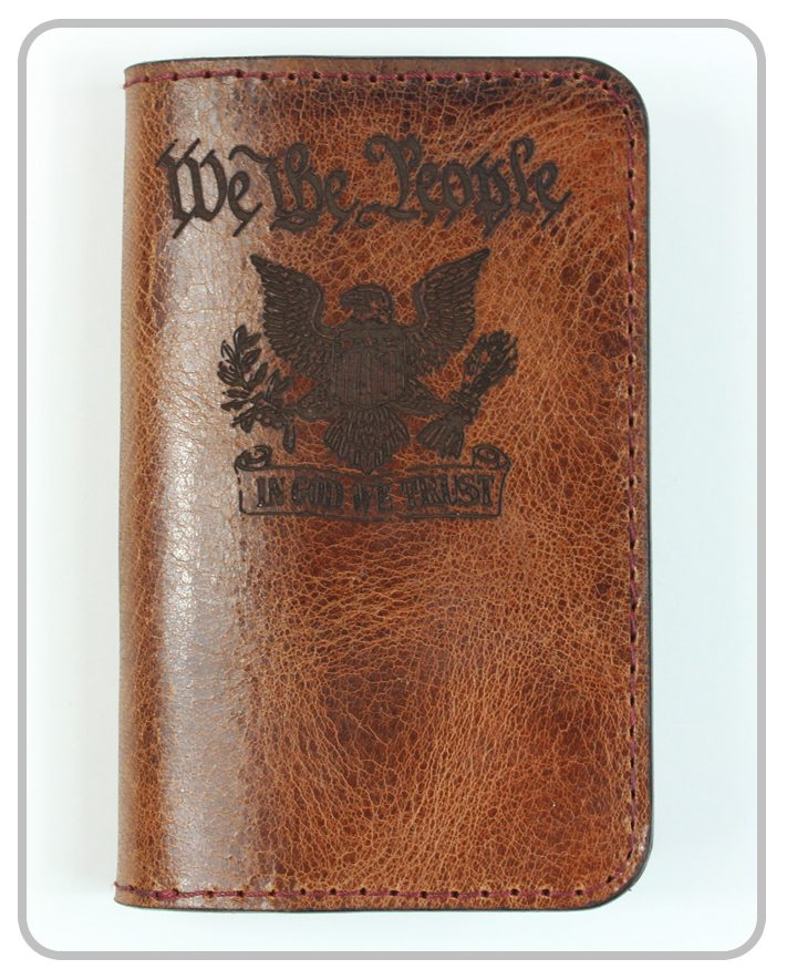 Clearance - 50% OFF - Leather Wallet / Passport / Notebook / Checkbook