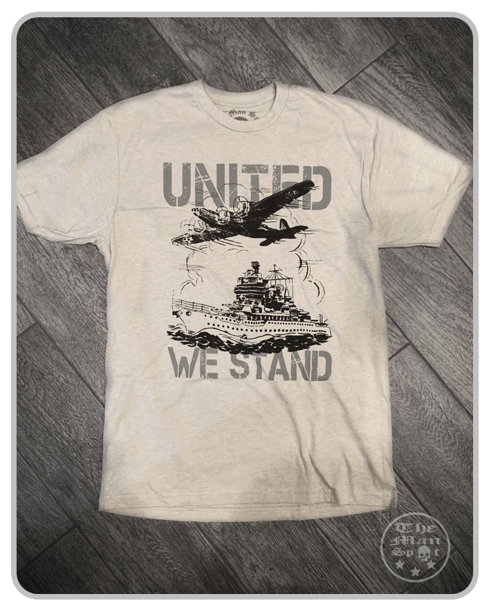 Discontinued - 50% OFF - United We Stand Crew Tee