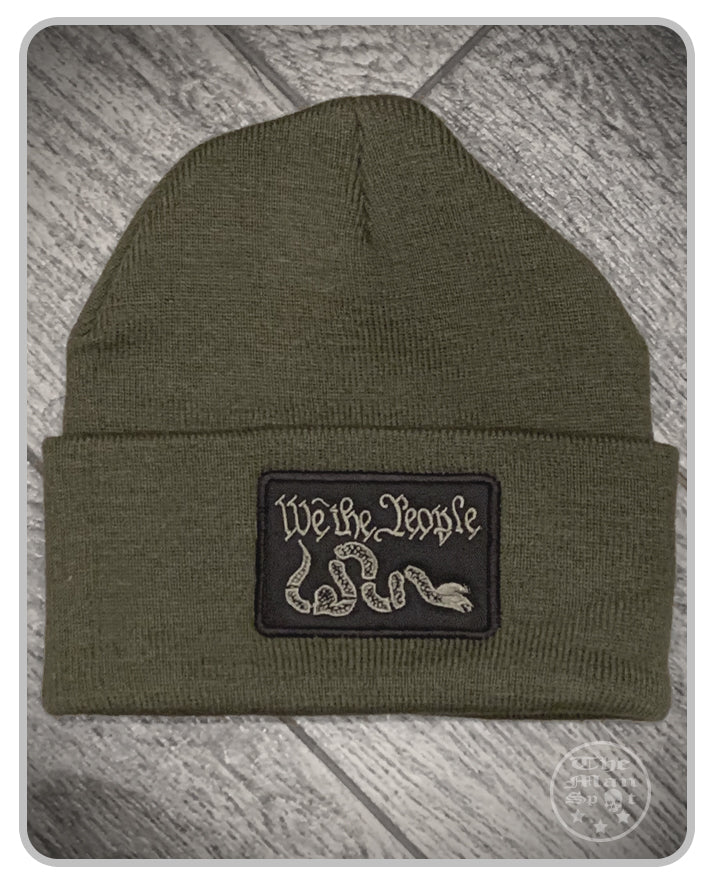 100% Made in the USA Beanie - OD Green - We The People