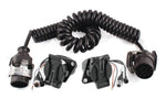 Truck/Trailer camera/sensor cable kit for ultrasonic systems