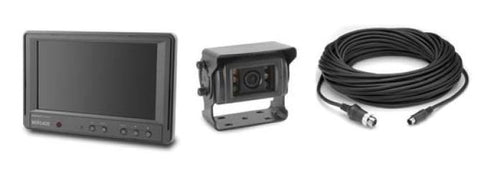 Elite single camera monitor system for regid vehicles
