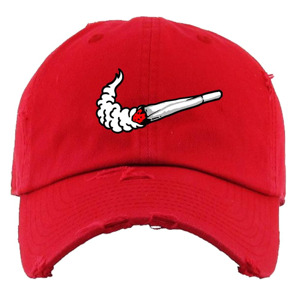 Casquette Planet of the grapes Dad Hat - SWOOSH RED