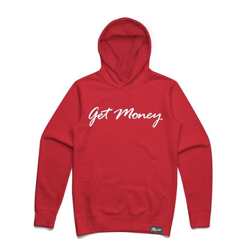 Hoodie Hasta Muerte Get Money Red