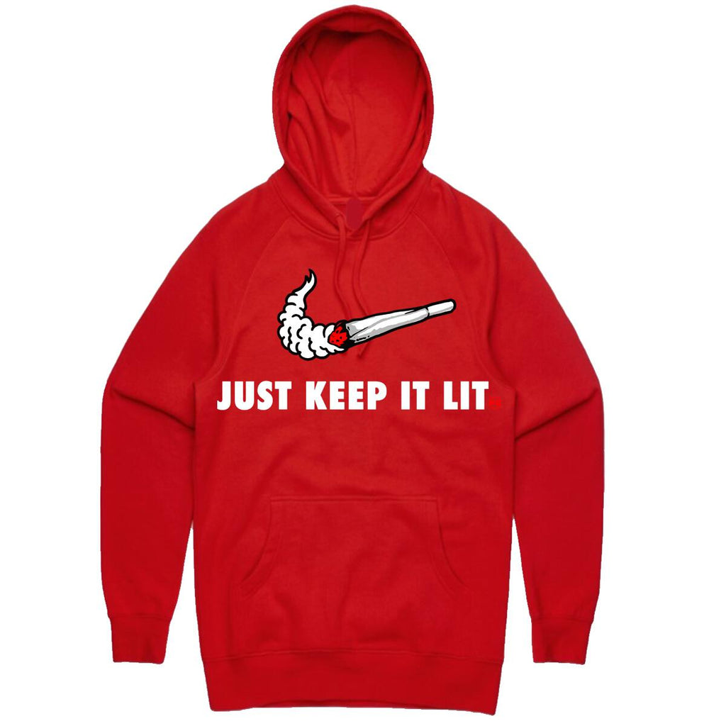 Hoodie Planet of the grapes SWOOSH RED