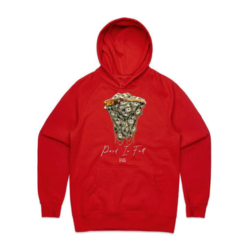 Hoodie POINT BLANK Paid in Full RED