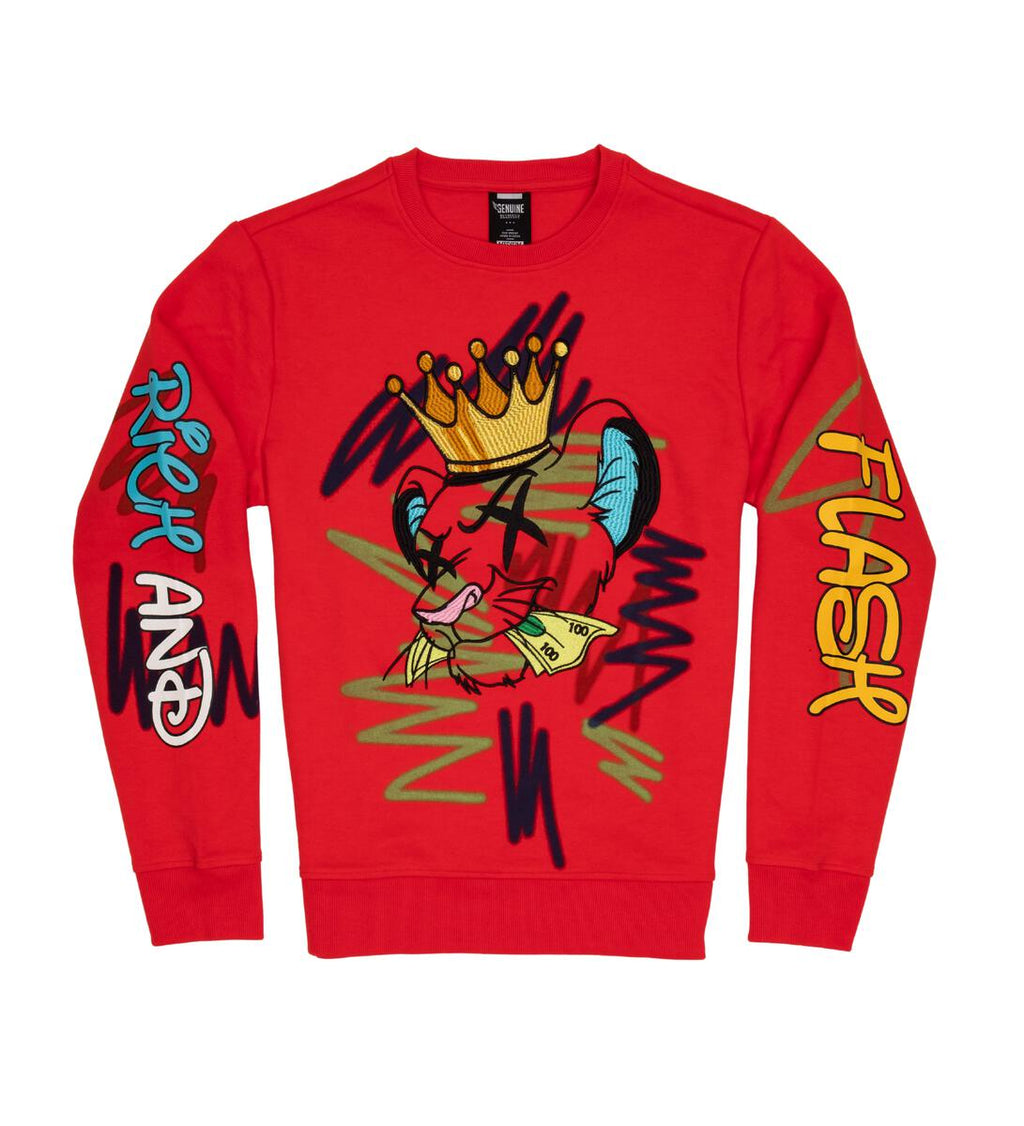 "GENUINE ""SIMBA"" CREWNECK"