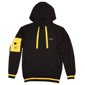 Hoodie NY STATE OF MIND Cargo Black/Yellow
