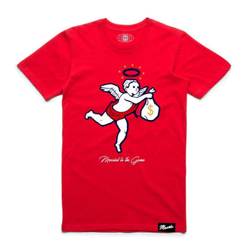 T-shirt Hasta Muerte 4TH OF JULY ANGEL Red