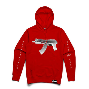 Hoodie HASTA MUERTE BRED FOR LIFE Red