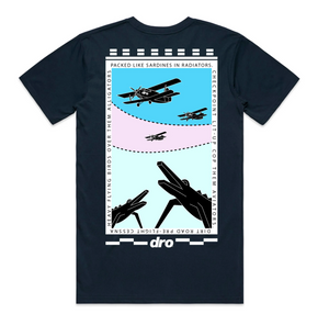 T-shirt DRO Alligators BLACK