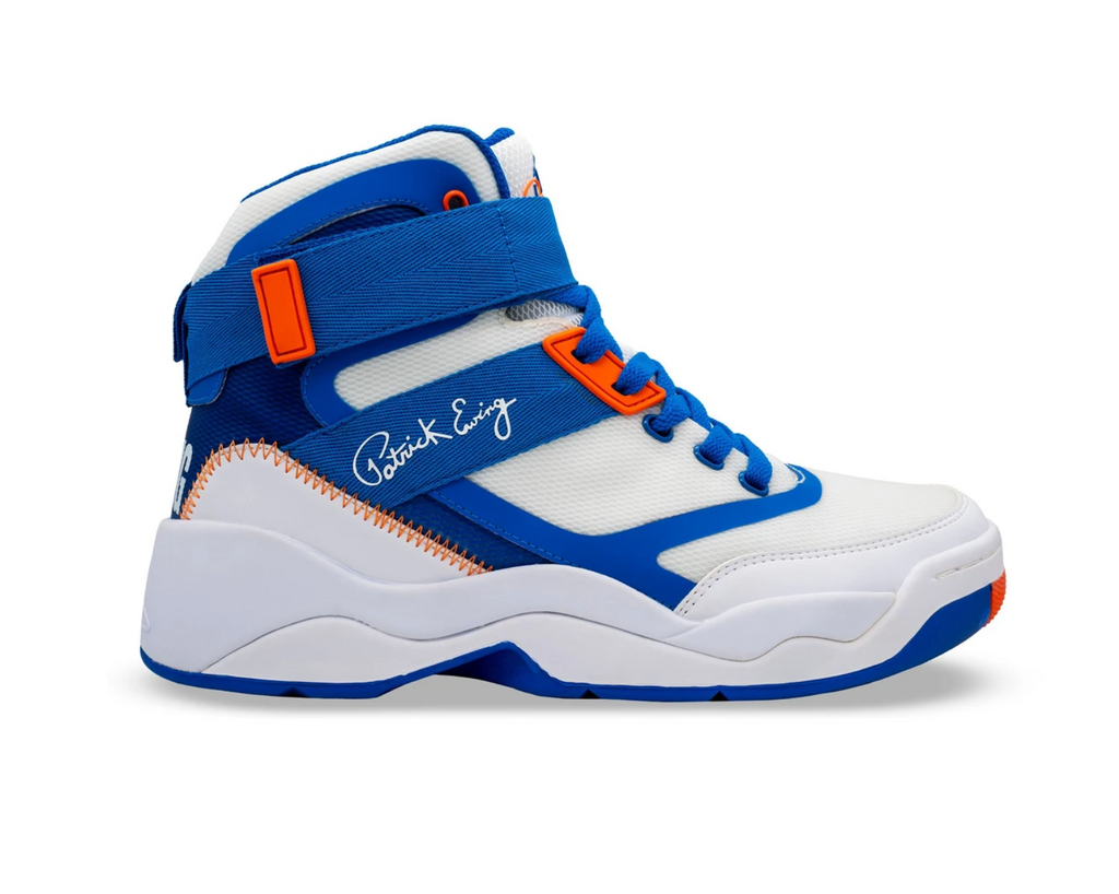 Souliers Patrick Ewing 33 HI 2.0 White/Royal/Orange