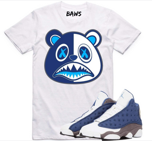 T-shirt BAWS Flint Scar Baws EBL WHite/Royal