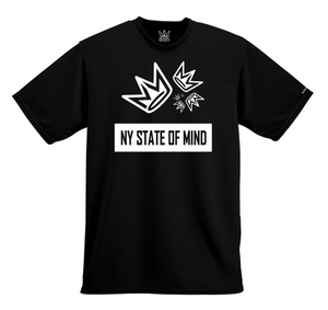 T-SHIRT NY STATE OF MIND GOLDEN RATIO BLACK