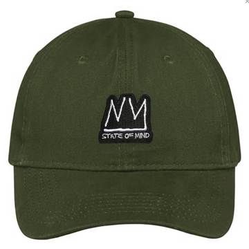 DAD HAT NY STATE OF MIND RADIANT BRAND OLIVE