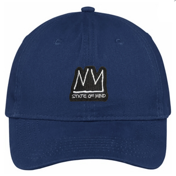 DAD HAT NY STATE OF MIND RADIANT BRAND NAVY