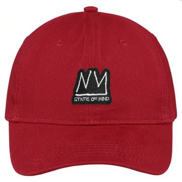 DAD HAT NY STATE OF MIND RADIANT BRAND RED
