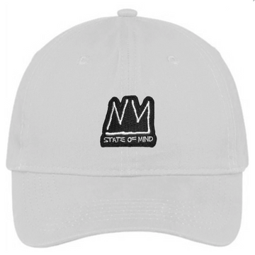 DAD HAT NY STATE OF MIND RADIANT BRAND WHITE