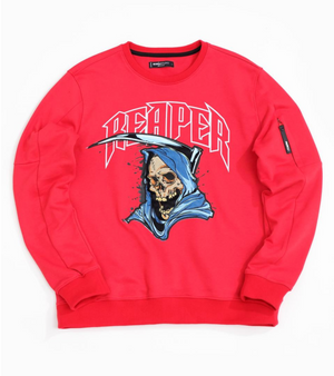 Crewneck Roku Studio Reaper RED