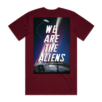 T-shirt DRO Aliens Burgundy