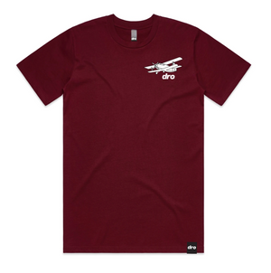 T-shirt DRO Alligators Burgundy
