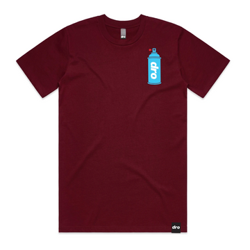 T-shirt DRO Unlike Burgundy