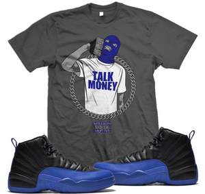 T-shirt Million Dolla Motive Talk Money Phone Dark Grey