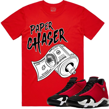 T-shirt Planet of the grapes Paper Chaser red
