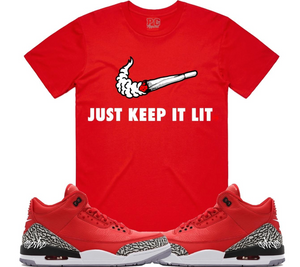 T-shirt Planet of the grapes KIL SWOOSH - Red
