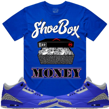 T-shirt Planet of the grapes SHOEBOX MONEY - Blue