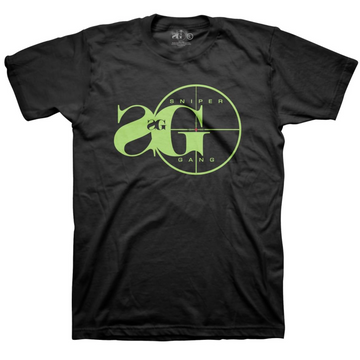 T-shirt SNIPER GANG LOGO Slime Tee (back design)
