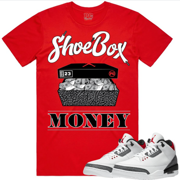 T-shirt Planet of the grapes SHOEBOX MONEY - RED