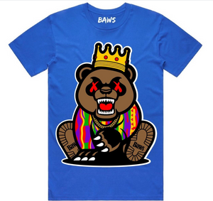 T-shirt Baws Grizzly Royal
