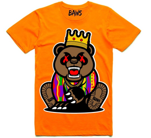 T-shirt Baws Grizzly Orange