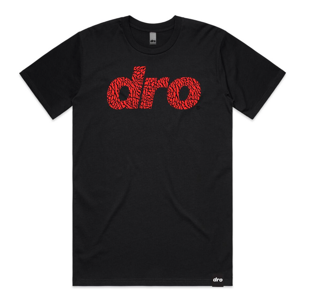T-shirt DRO ELEPHANT TEE BLACK