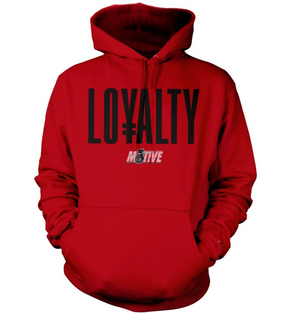 Hoodie Million Dolla Motive Loyalty - Red