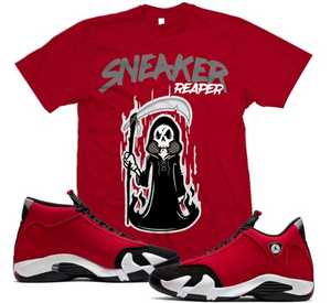 T-shirt Million Dolla Motive Sneaker Reaper - Red