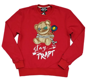 Crewneck BKYS Stay Trapt Red