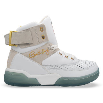 Souliers Patrick Ewing 33 HI White/Grey/Gold/Ice x LAURENS J DRAWINGS