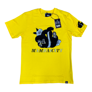 MAMBAICITY T SHIRT YELLOW