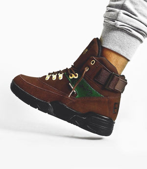 Souliers Patrick Ewing 33 HI WINTER Brown/Green/Black